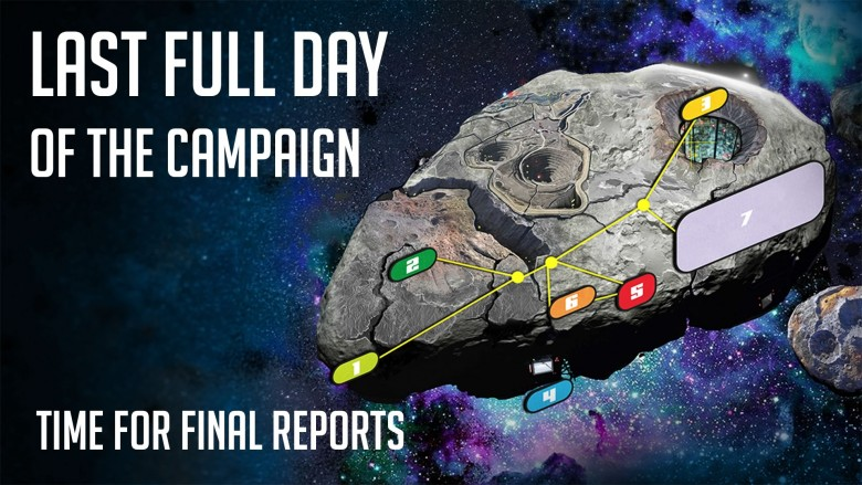 Final Day – Campaign Closes Tuesday